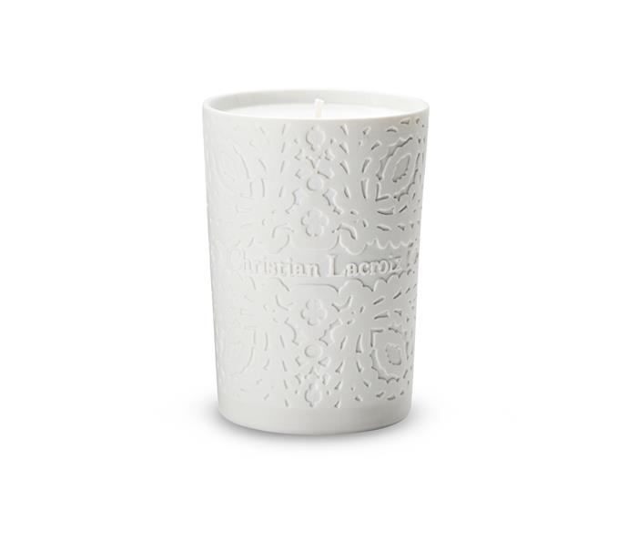 "Christian Lacroix 'Arles' **candle**, $119, from [Darcy & Duke](http://www.darcyandduke.com.au/|target=""_blank"")."