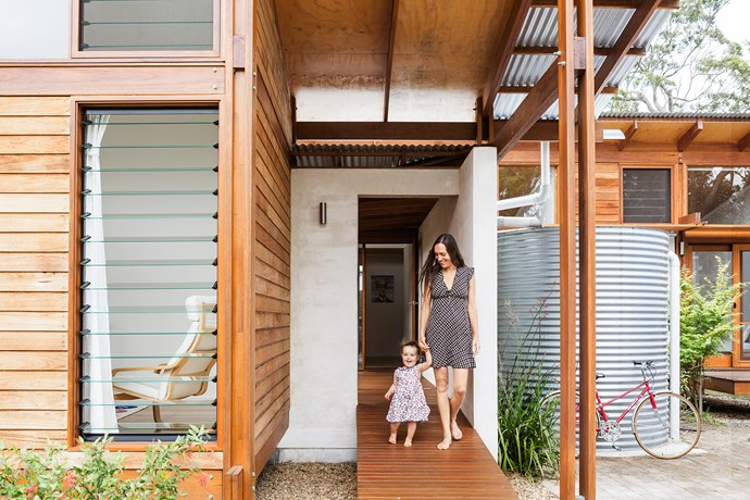 """Even though the block is only 700m2, it sometimes feels as though we are living in the bush,"" says architect and owner [Anthony Knobel](http://www.anthonyknobelarchitect.com.au/?utm_campaign=supplier/