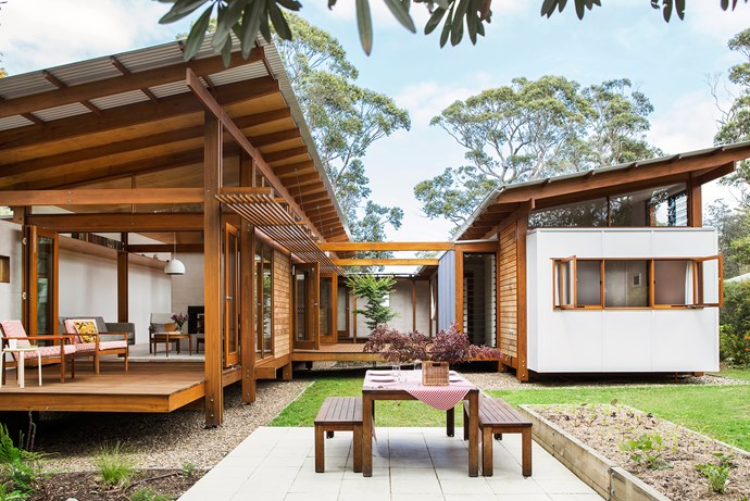 """Kids love to interact with this house – it captures their imagination. It feels a bit like a cubbyhouse and has a playful nature,"" says Anthony."