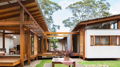 Coastal NSW home celebrates Japanese and European design