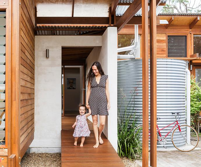 Coastal NSW home with Japanese and European influence