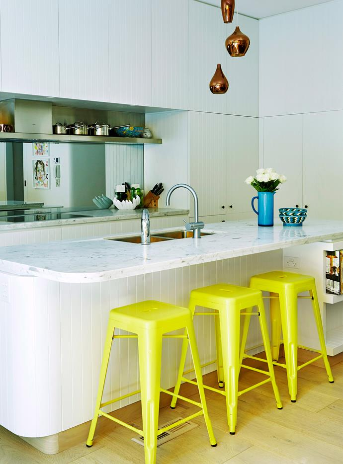 Classic marble benchtop. Photo:  Scott Hawkins / bauersyndication.com.au (photographer)