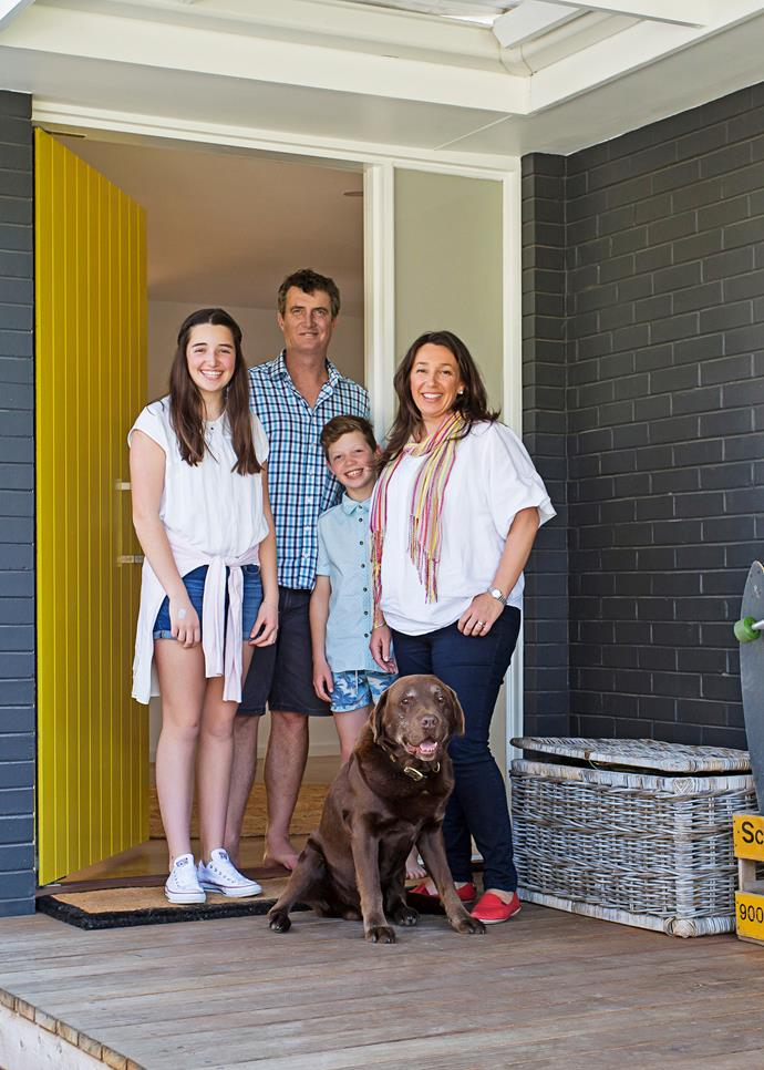 """I really love our yellow door – it just emanates happiness!"""