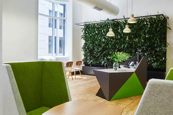 """Visitors are privy to a lush reception at the offices for [Commercial & Industrial Property (CIP)](http://www.ciproperty.com.au/?utm_campaign=supplier/