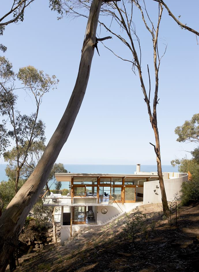 Architect Robert Mills holiday house in Lorne. Photo: Earl Carter | Text: Carli Philips