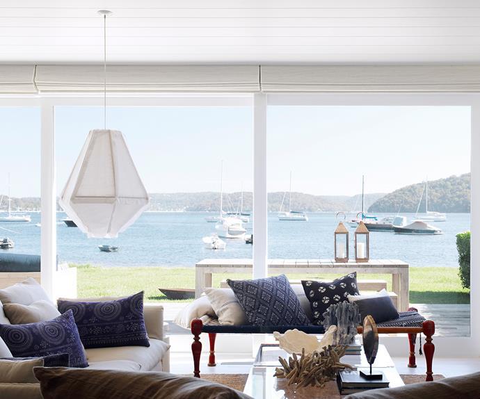 Luxury coastal living room
