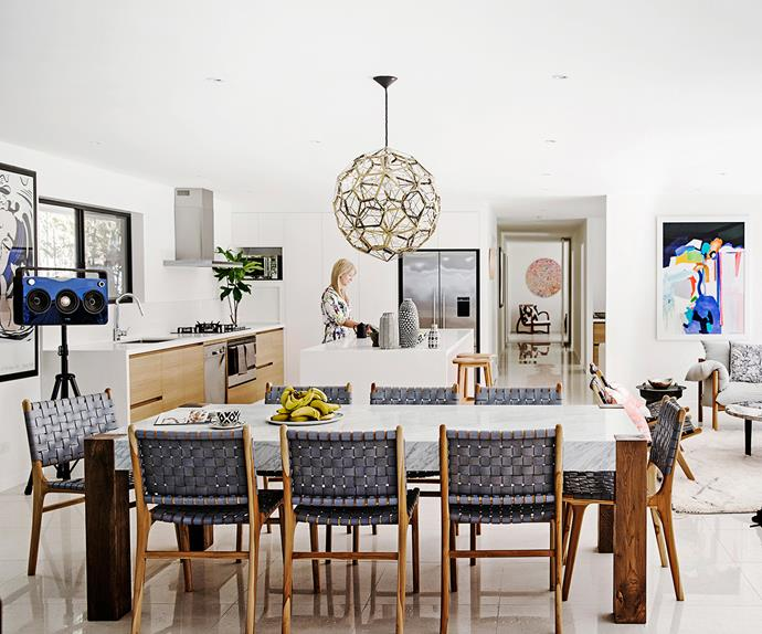 Fashion designer Kelli Wharton's Byron home