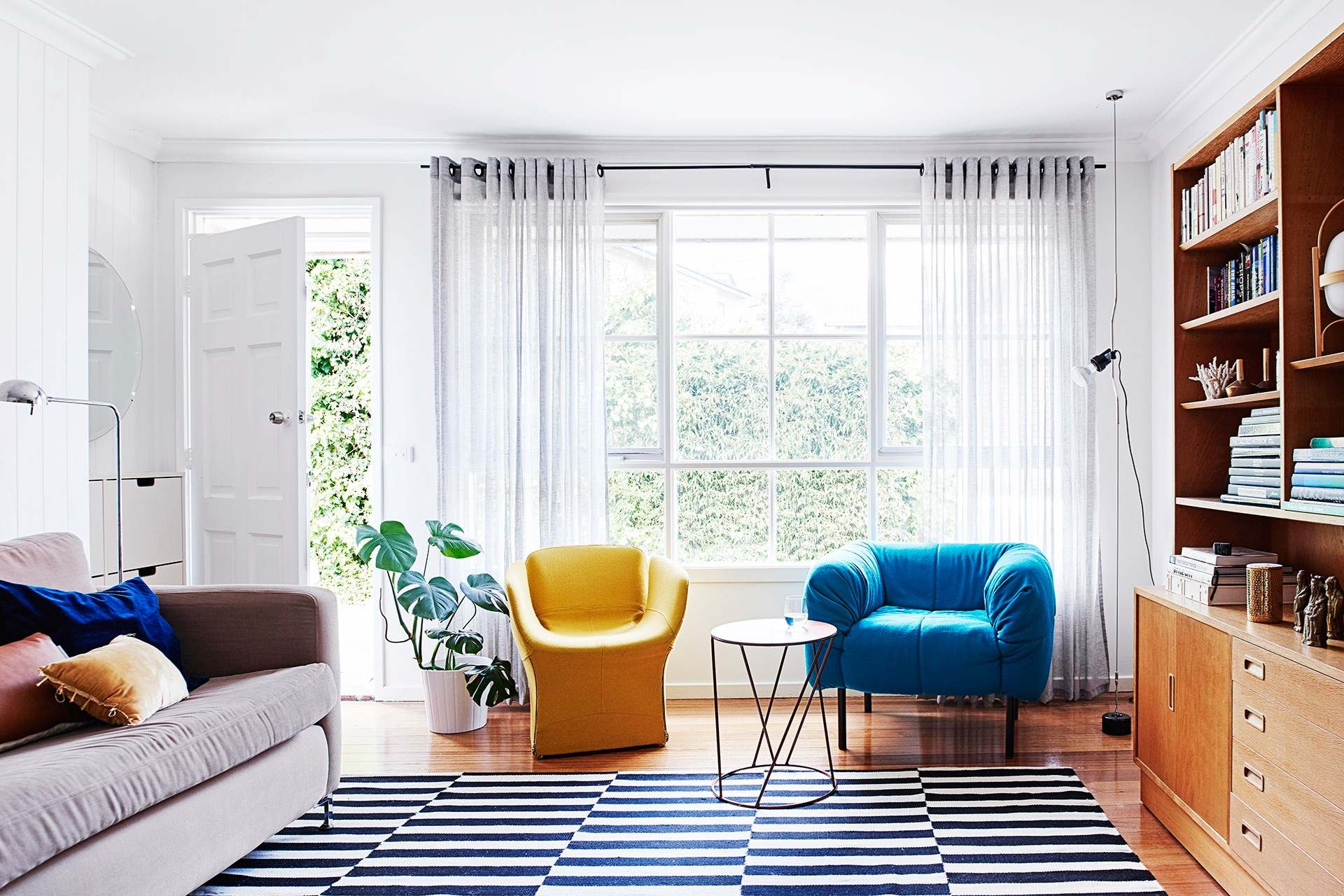 The Swiss cheese plant (Monstera deliciousa) has come full circle and is right on trend in today's home. Photo: Eve Wilson