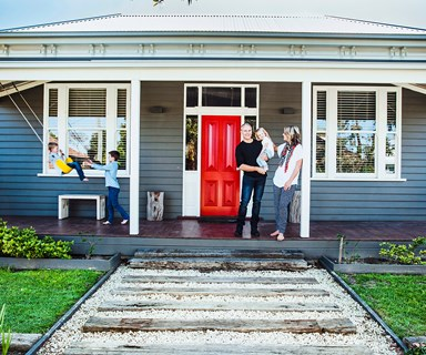 Create a warm welcome with a smart entry