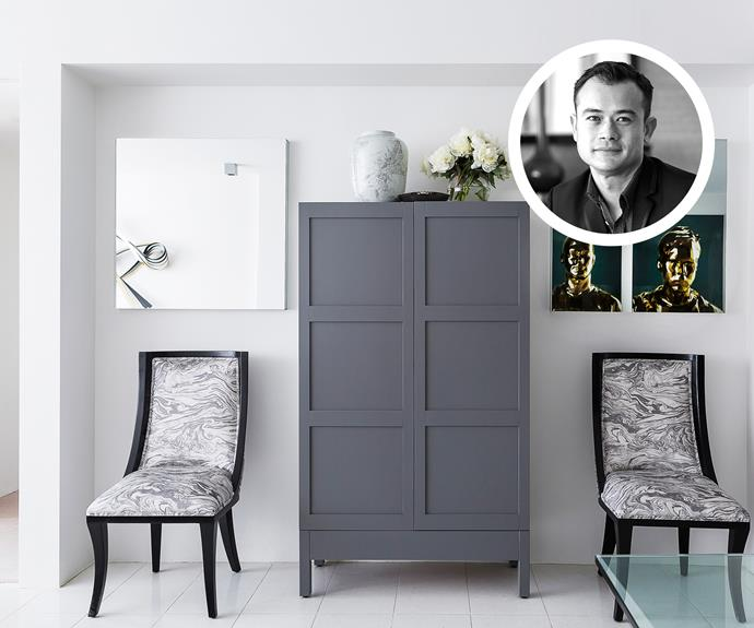 "Brendan Wong designed this elegant freestanding bar cabinet for the dining room of an [inner-city apartment](http://www.homestolove.com.au/interior-style-qanda-brendan-wong-of-brendan-wong-design-2098|target=""_blank""). Photo: Maree Homer"