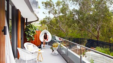 City living: treetop entertaining in Melbourne