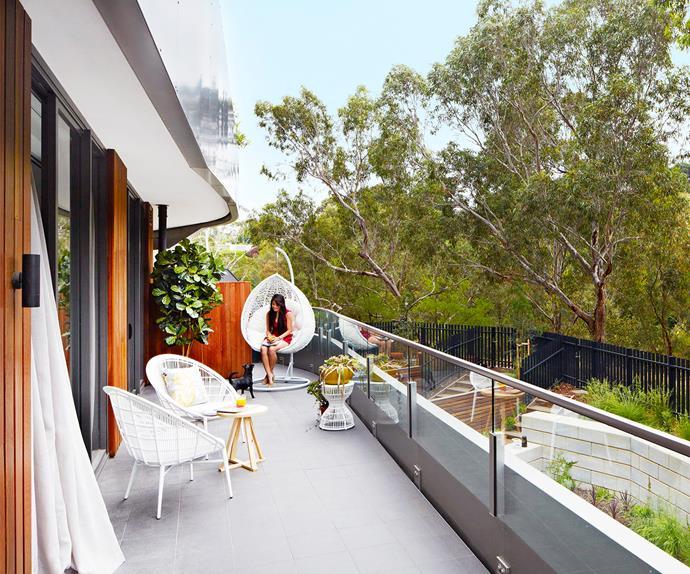 Amanda's treetop Melbourne apartment