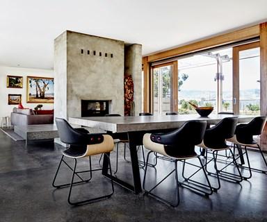 Contemporary revamp for '70s farmhouse