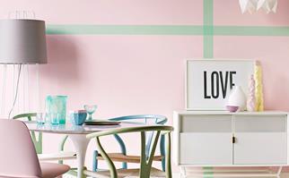 pastel interior design