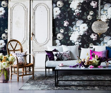 Decorating with modern florals