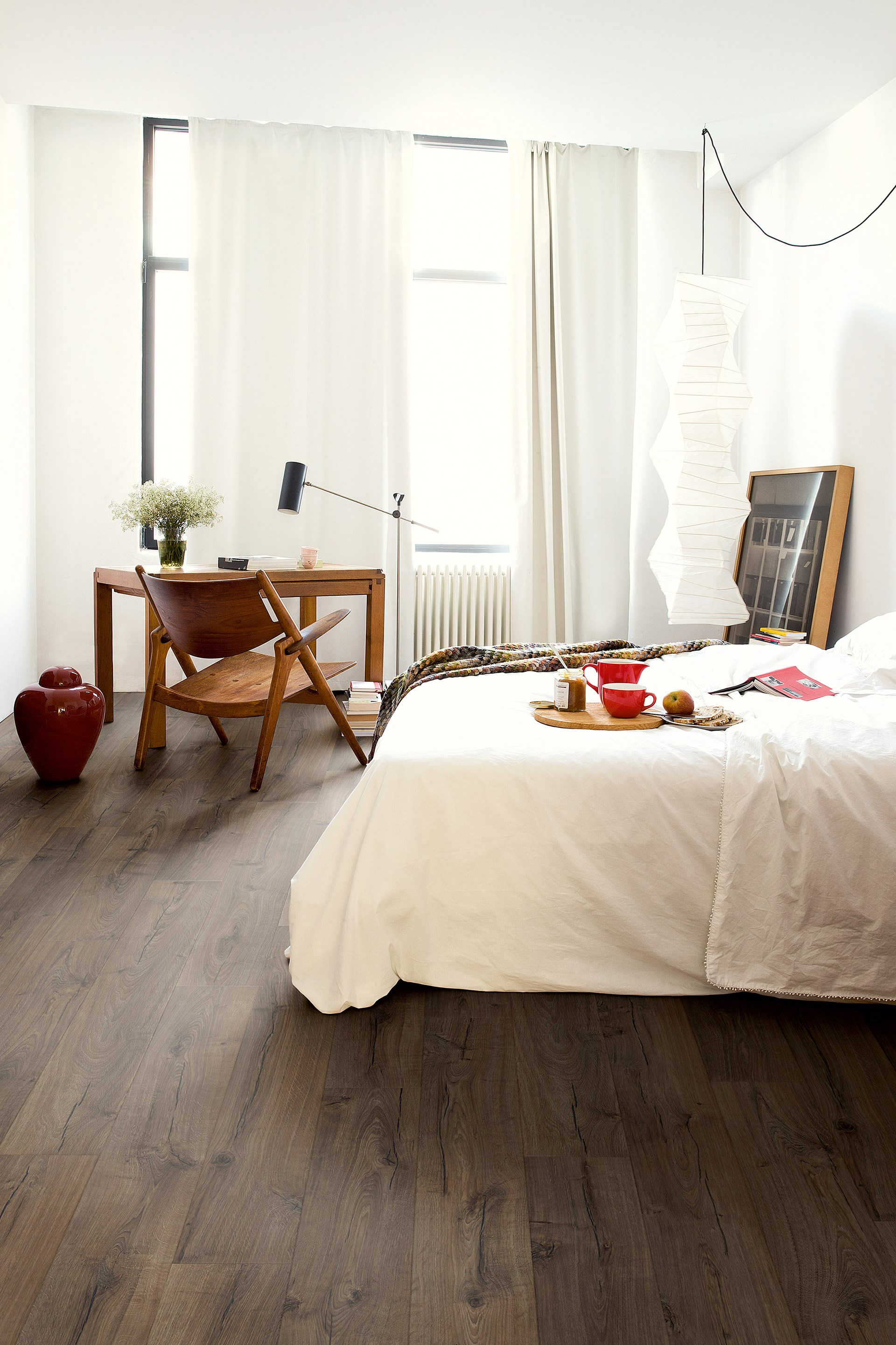 "Flooring occupies a huge amount of real estate in a room so you can use it to make [a serious style statement](http://www.homestolove.com.au/timber-floors-that-make-a-style-statement-2880|target=""_blank"")."