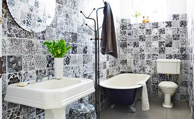 A personal touch: decorating with hand-printed tiles
