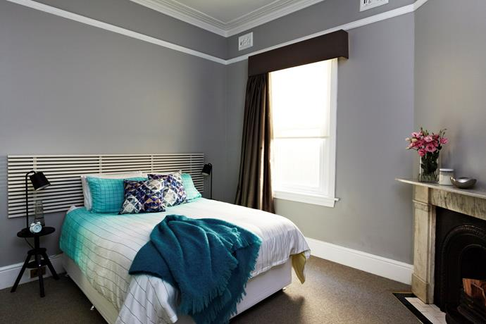 If you've ever been accused by your friends as being a bit of a scatter brain, having cool clean space should help calm your thoughts and focus on sleep. While embracing natural light is key, if you're a light sleeper, blackout curtains are well worth the investment. Photo: Scott Hawkins / bauersyndication.com.au