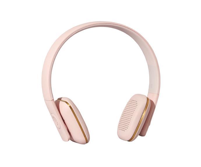 "Kreafunk ""Ahead"" wireless **headphones**, $180, [Top3 By Design](http://top3.com.au/?utm_campaign=supplier/|target=""_blank"")."