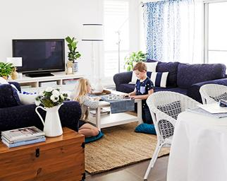 living room makeovers on a budget