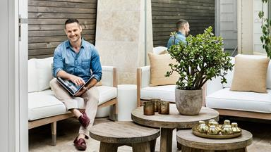 Darren Palmer's dreamy yet durable Sydney home