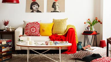 Update your living room with these simple life hacks