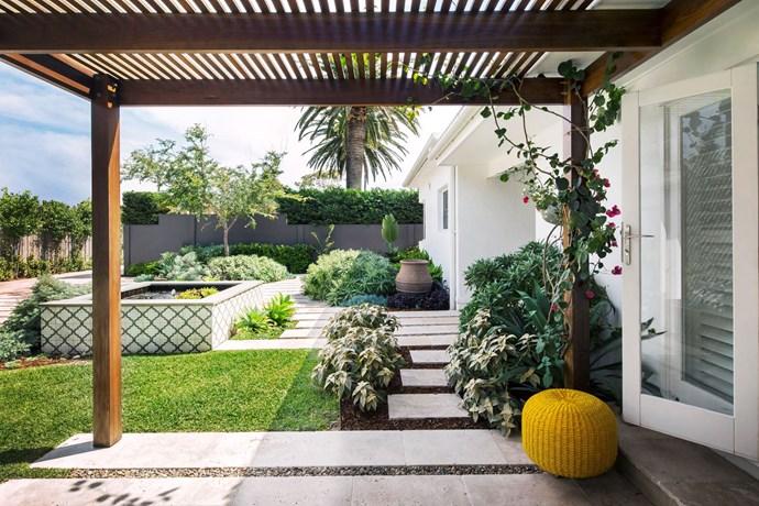 "For more garden inspiration, take a tour through this [stunning southern Sydney masterpiece](http://www.homestolove.com.au/coastal-style-garden-makes-entertaining-a-breeze-2961|target=""_blank"") created by landscape designer Matt Leacy. Photo: Jason Busch / Australian House & Garden"