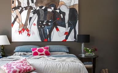 How to choose a colour for your feature wall