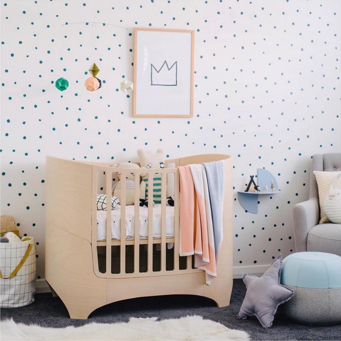 "[@thislittlelove_au](https://www.instagram.com/thislittlelove_au/?utm_campaign=supplier/|target=""_blank"") is a designer of children's decor, so naturally her son Oliver's nursery is absolutely divine."