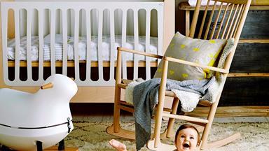 Insta-inspired nursery styling