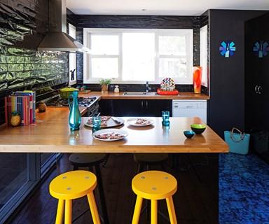 Before & after: Stylish black kitchen transformation