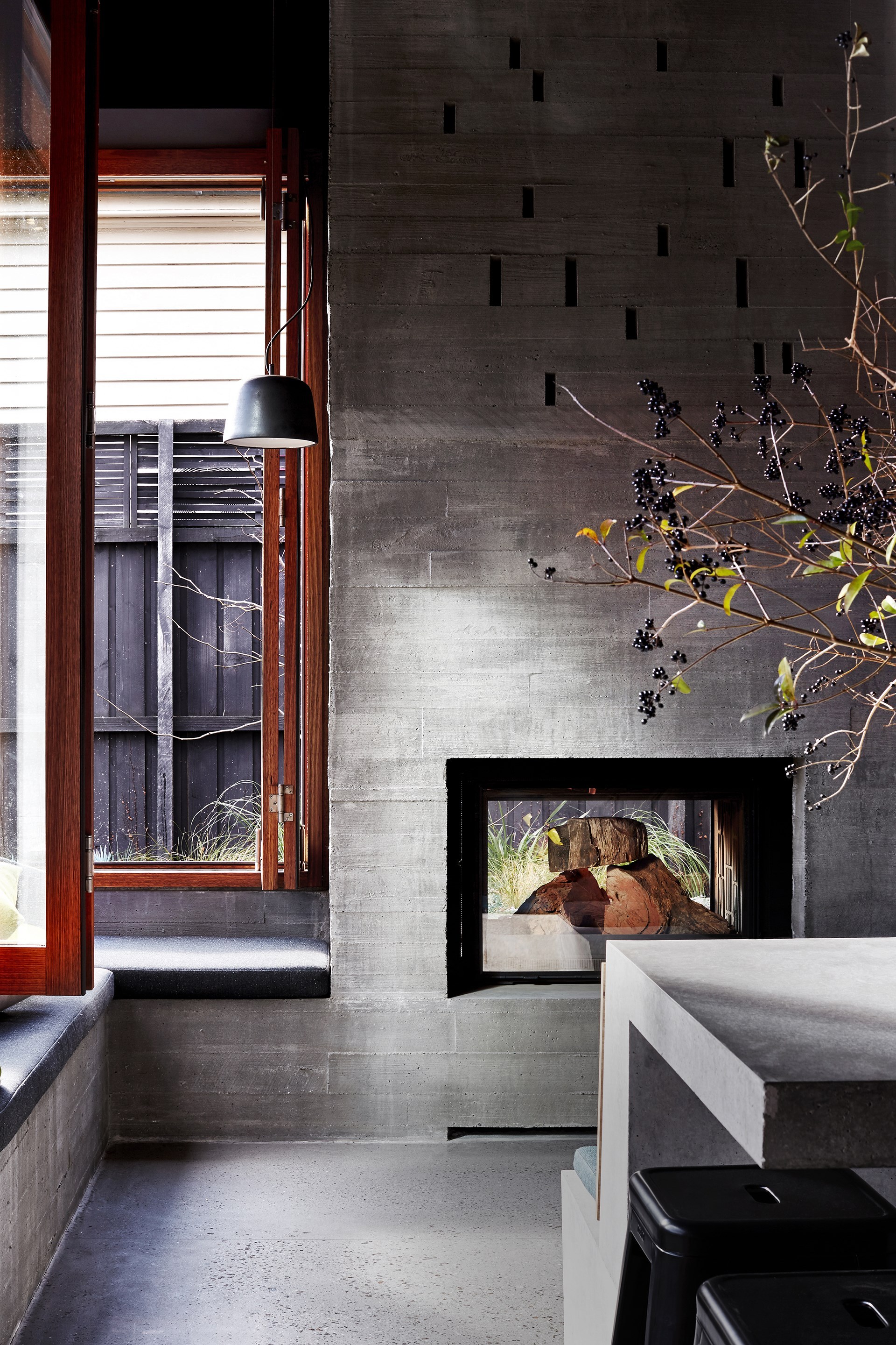 """This [fashionable fireplace](https://www.homestolove.com.au/fashionable-fireplaces-for-winter-1605
