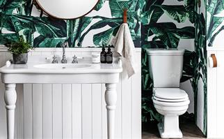 How to make your loo look lovely