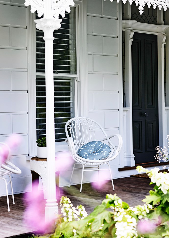 """Every part of this garden is used, gazed upon, cherished. """"It's a garden with lots of interest and it changes a lot throughout the seasons,"""" says Lynn. """"We love the fact that we look onto greenery from every vantage point in our home."""""""