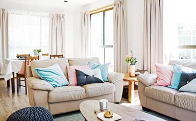Shop the look: Stylist's $1000 living room makeover