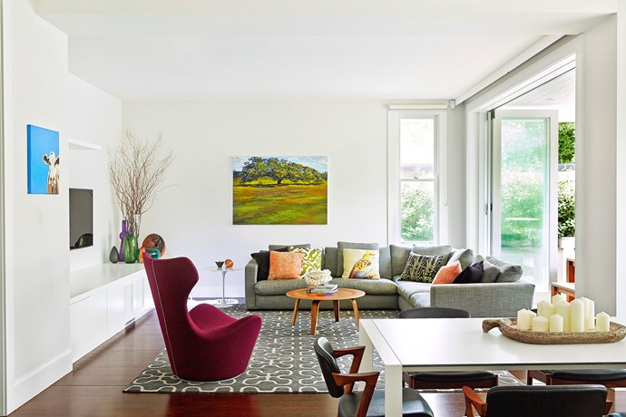 """Getting your proportions right is key. For more handy advice, [see our size guide here](http://www.homestolove.com.au/how-to-pick-the-right-rug-size-for-your-space-1485