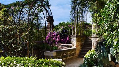 19th-century garden restored to former glory