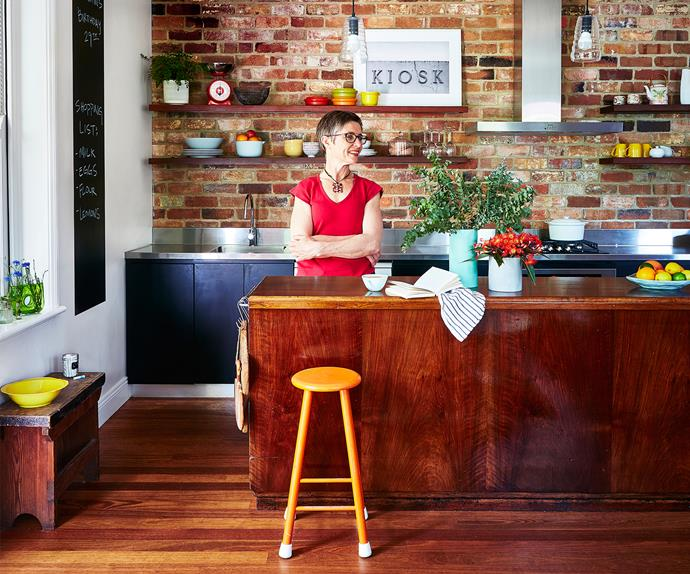 A café-inspired kitchen with eco credentials
