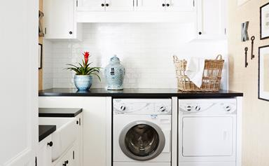 How to make a small laundry feel big