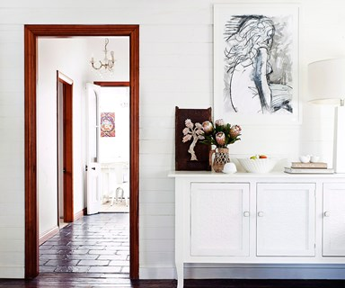 How to paint white walls