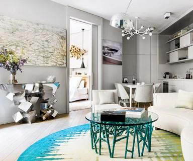 A design-savvy duo's Paris abode