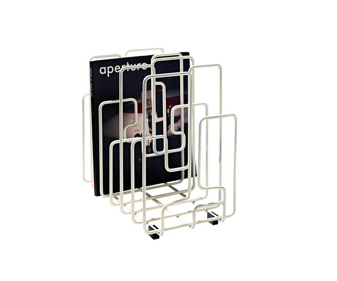 "Minus Tio ""In The Neighbourhood"" **mag rack**, $199, [Top3 By Design](http://top3.com.au/?utm_campaign=supplier/
