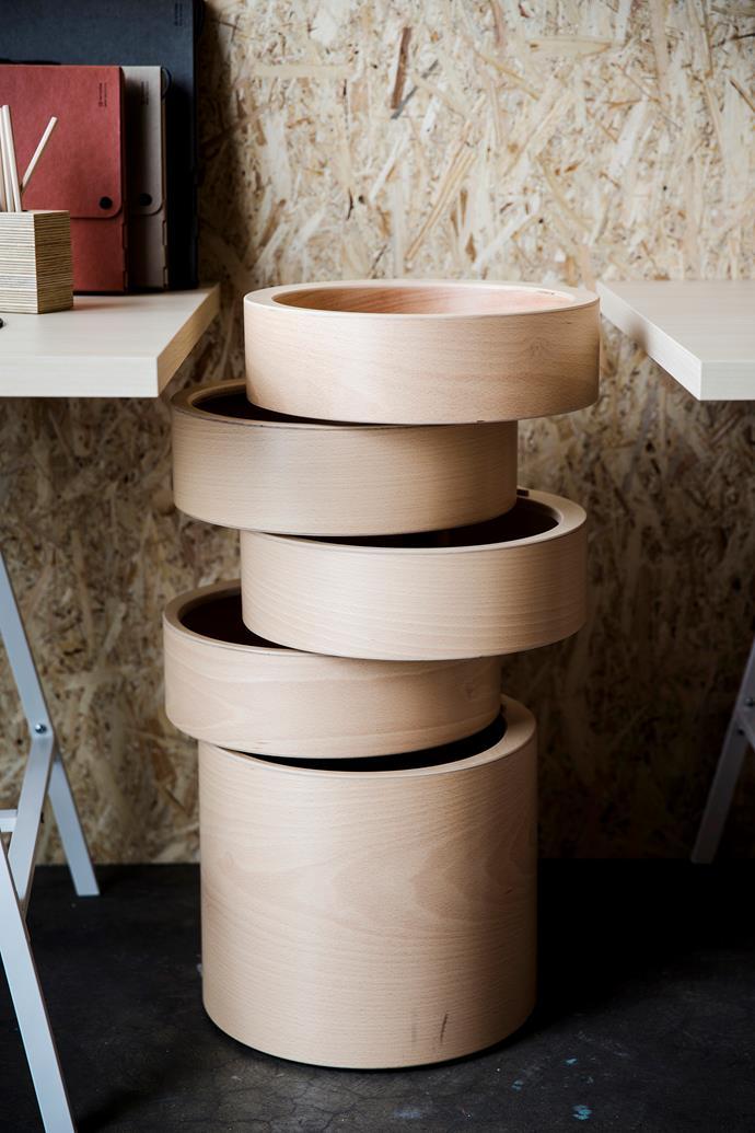 "Bellantonio rotating **drawers**, $1020, [Plyroom](http://www.plyroom.com.au/?utm_campaign=supplier/|target=""_blank"")."