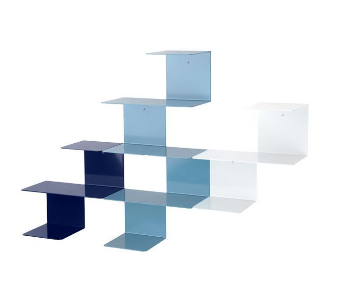"Harto ""Linette"" **shelf system**, $340 each, [Clickon Furniture](http://www.clickonfurniture.com.au/?utm_campaign=supplier/|target=""_blank"")."