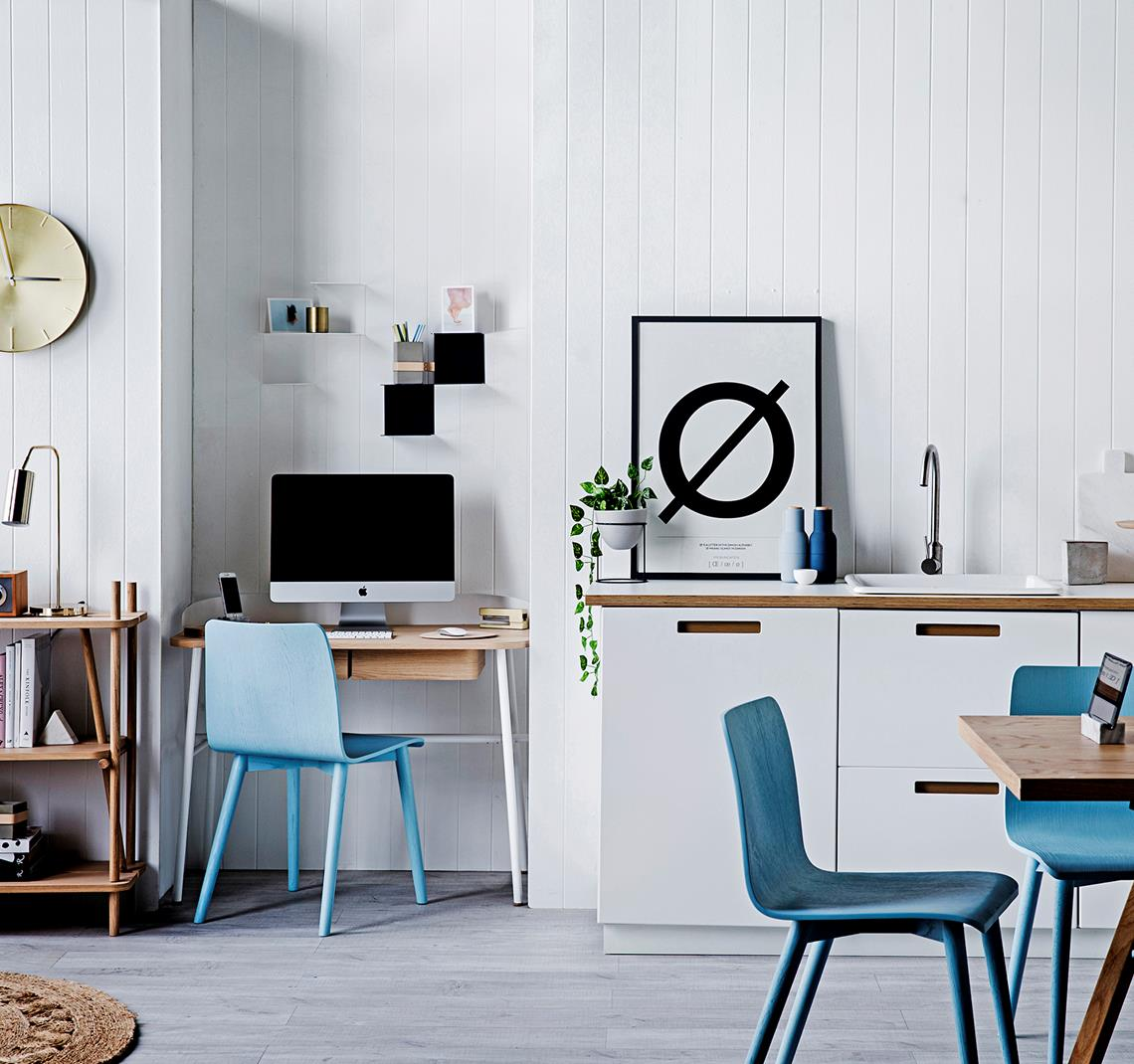 Small Dining Room 14 Ways To Make It Work Double Duty: Study Nook