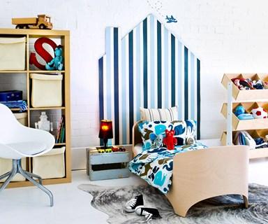 6 steps to an organised kid's room