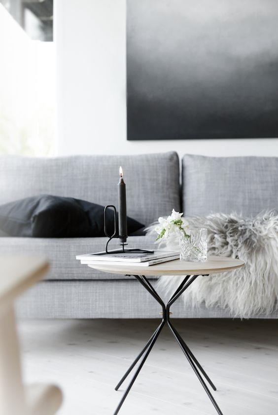 "A coffee table is the perfect canvas to express your personal style. [Here's how to style it up](http://www.homestolove.com.au/tips-for-styling-a-coffee-table-3025|target=""_blank""). Photo: [By Nina Holst](http://www.byninaholst.com/
