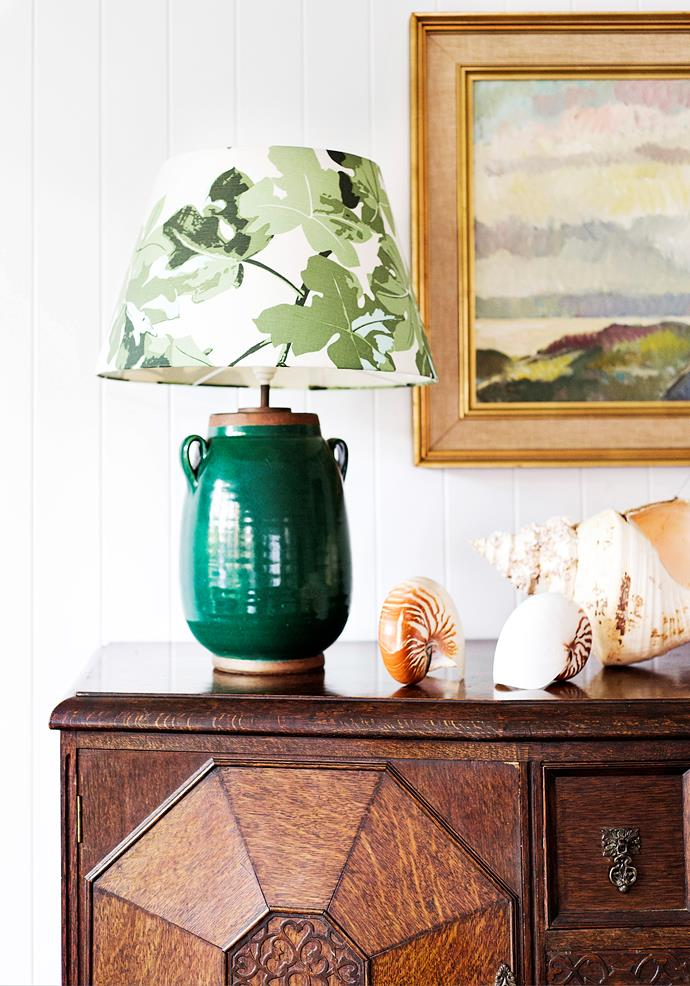"""Antiques and family treasures play a starring role in this home. """"I'd like to think that my favourite pieces will be handed down to my girls and I buy with this in mind,"""" says Claudine. Antique sideboard, [Botticelli House](https://www.botticellihouse.com.au/
