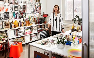 Dinosaur Designs' Louise Olsen invites us inside her workspace