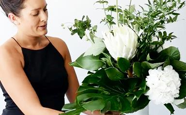 How to create a fresh floral arrangement